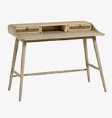 escritorio de madera maciza de estilo nórdico