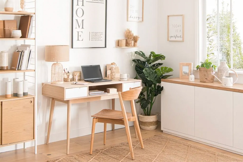 escritorio de habitación