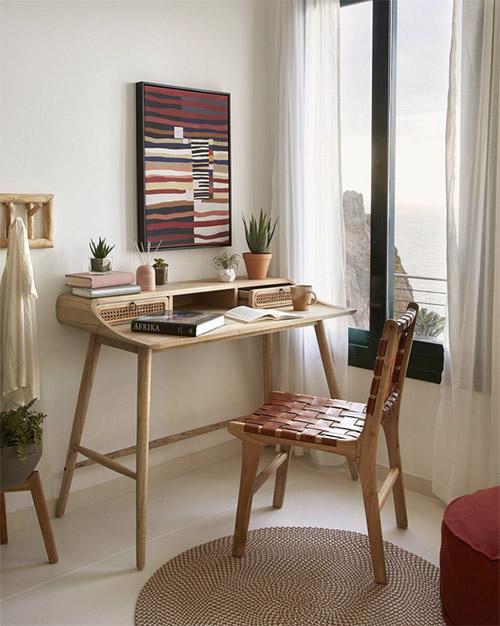 decoracion escritorio habitacion pequeña