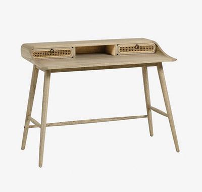 escritorio de madera diseño escandinavo
