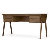 escritorio de estilo vintage de madera