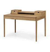 escritorio de madera de roble