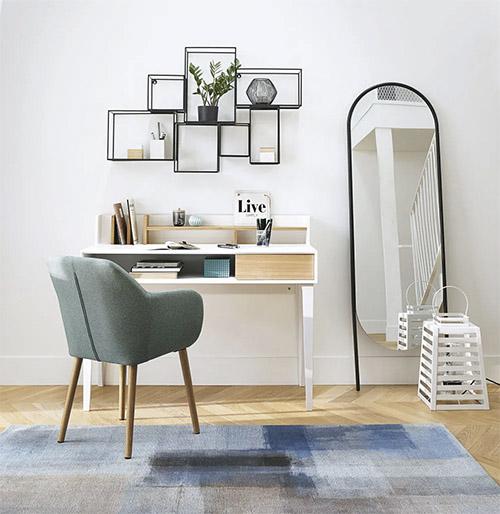 como decorar un dormitorio escritorio