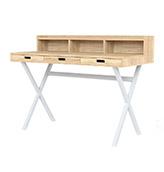 escritorio nórdico moderno