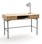 escritorio vintage de madera