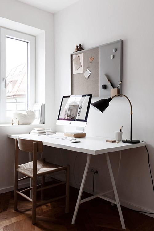 Cómo decorar un lugar de trabajo en casa