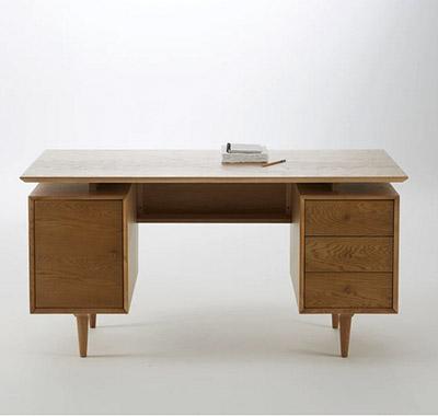 escritorio rústico vintage