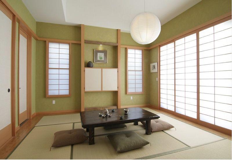 el orden en los espacios de estilo japonés