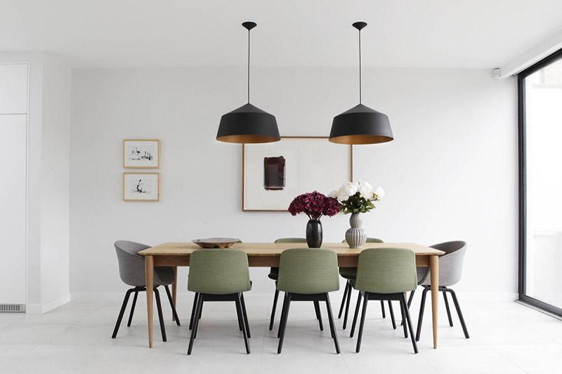diseño y decoración de espacios de estilo minimalista