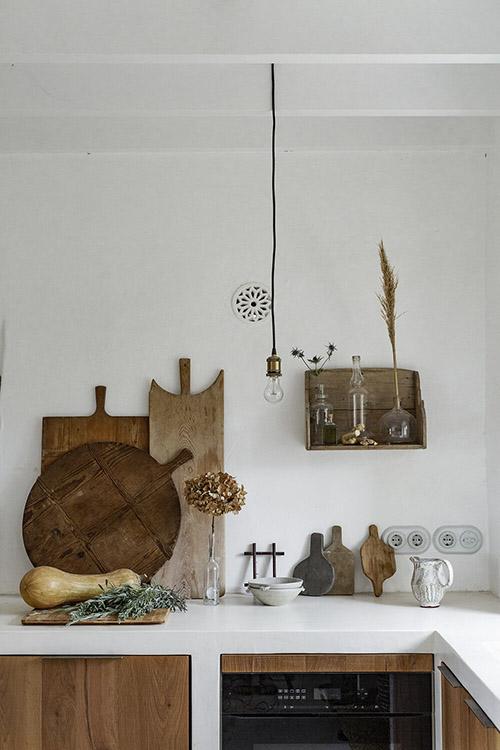 ideas para decorar una cocina de estilo rústico