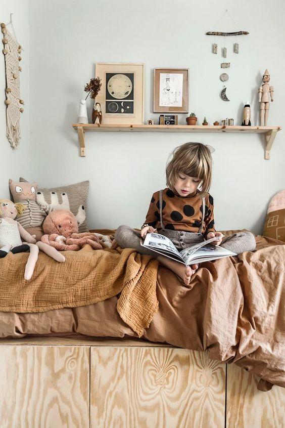 Colores neutros en las habitaciones de los niños