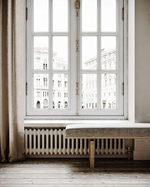 apartamento de estilo minimalista