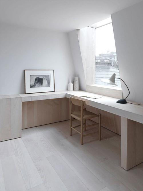 Una habitación simple y serena