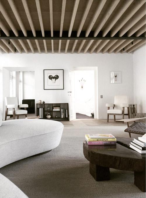 Amplitud de espacios en los interiores minimalistas