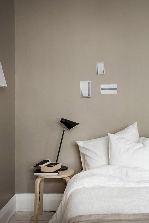 muebles de diseño escandinavo para una habitacion de estilo minimalista