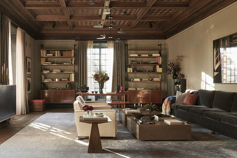 muebles vintage para decorar el salón