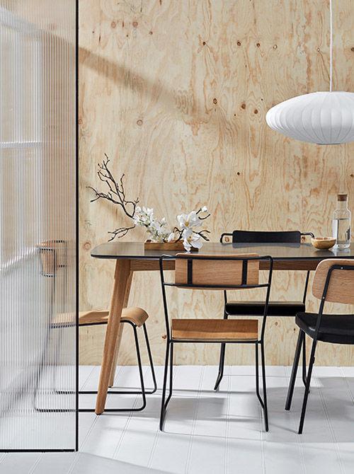 El blanco y los colores tierra en la decoración minimalista