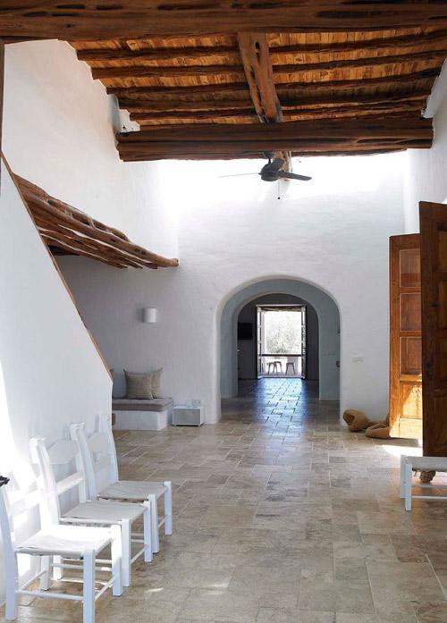 Elementos característicos de las casas mediterráneas