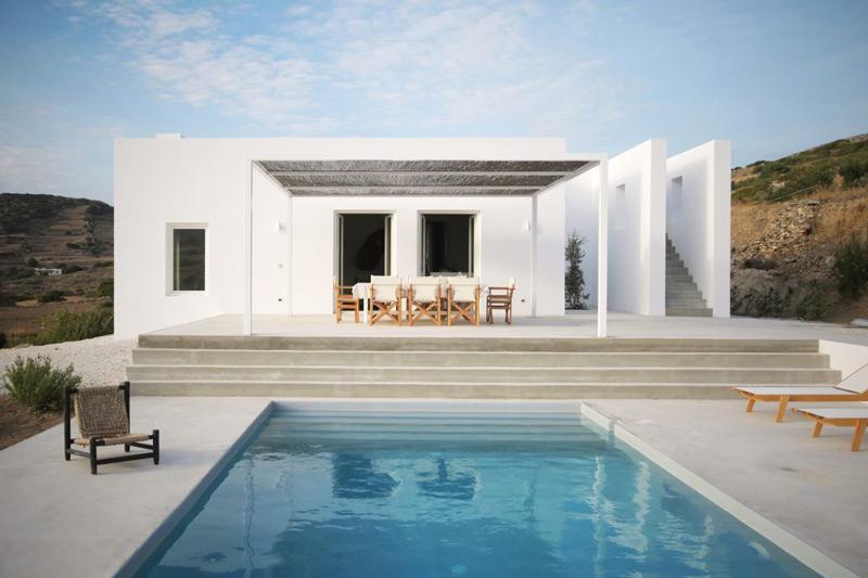 Una casa de vacaciones en Gecias