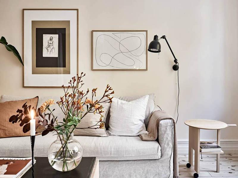 lámparas para decorar espacios pequeños