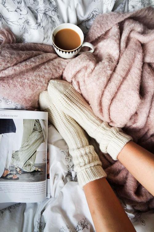 cálidos textiles en los hogares nórdicos