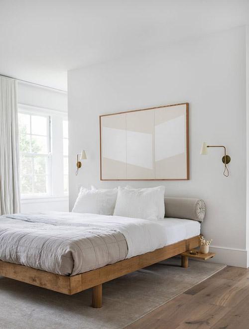decoración minimalista de dormitorios