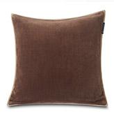 funda de cojín de color marrón para sofá