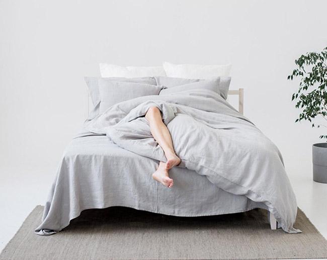 funda nórdica de cama para la decoración de una habitación de estilo nórdico