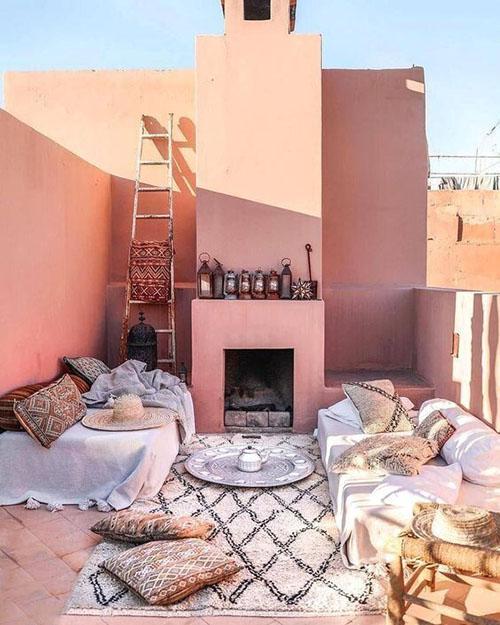 decoración arabe marroquí