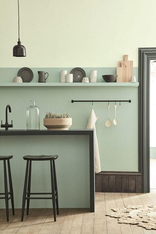 Rieles y ganchos de cocina