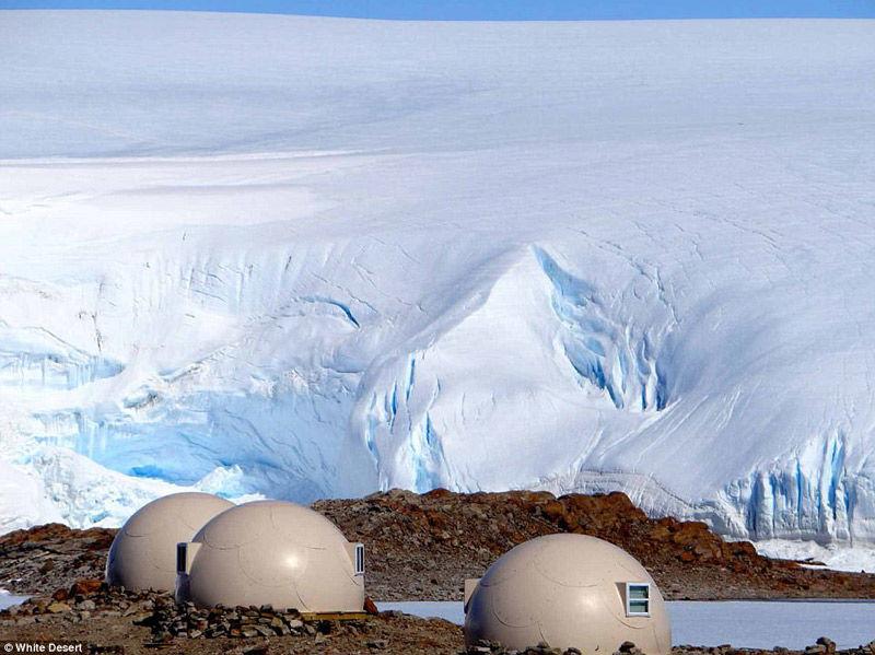 Glamping en la Antártida