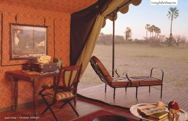 Camping de lujo en África