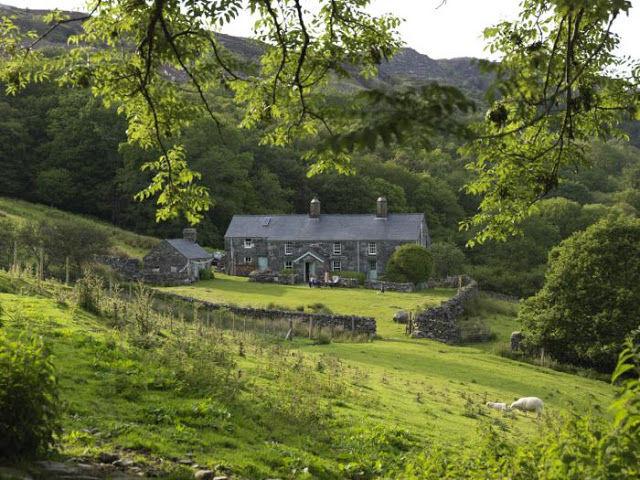 Una granja en Gales