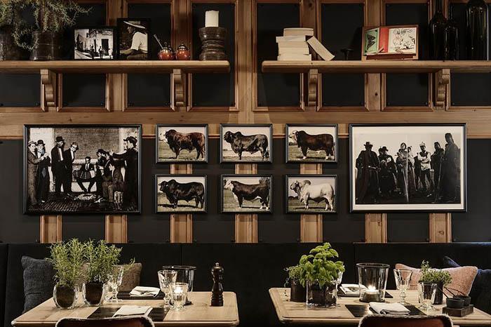 restaurante de carne en gstaad