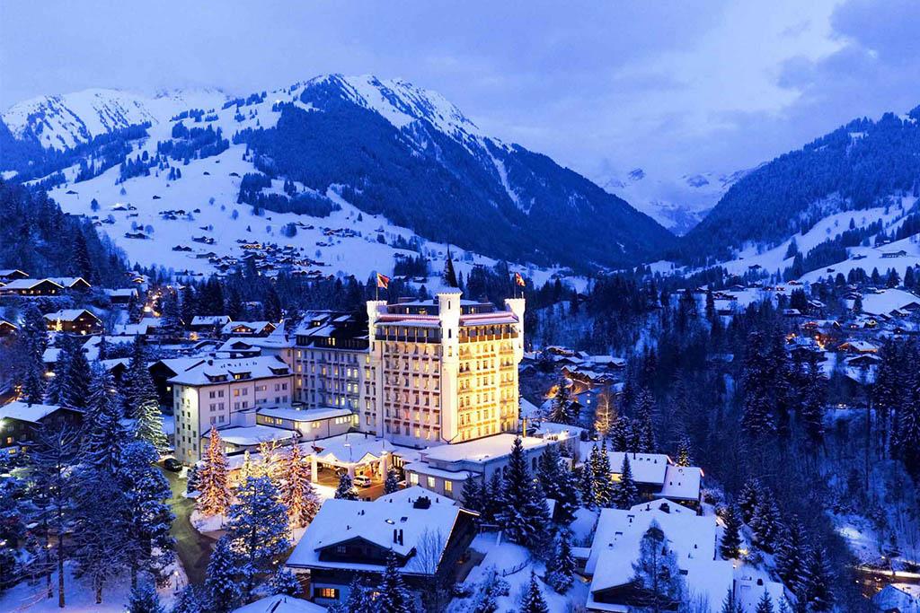 Gstaad en Suiza
