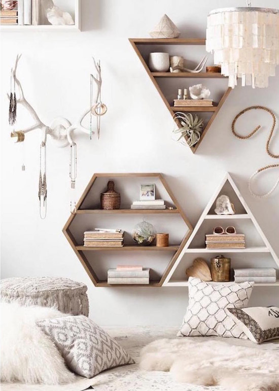 dormitorio de estilo étnico y nórdico