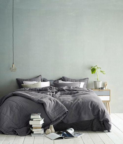 cómo pintar un dormitorio de color verde