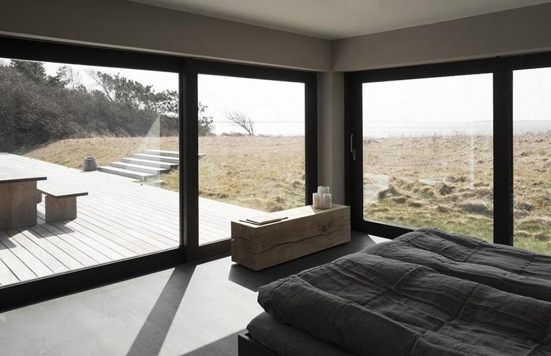 Dormitorio de una casa de campo