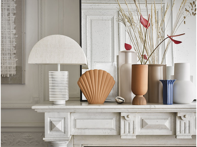 accesorios decorativos de marmol de HK Living
