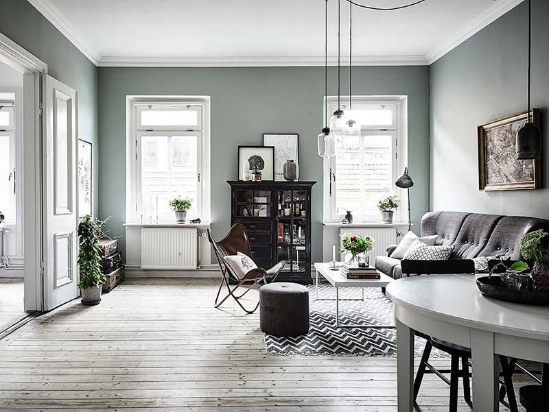 salón verde menta