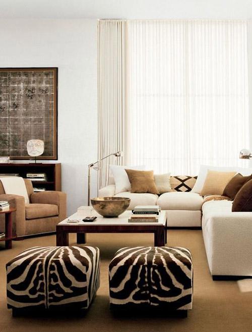Decoración de interiores de estilo africano