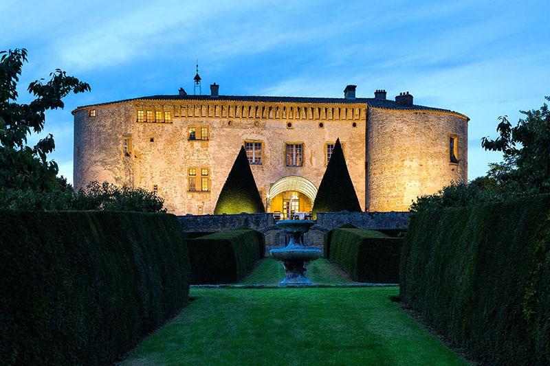 hoteles tipo castillo en francia