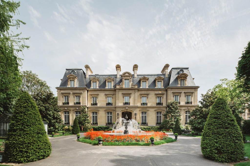 hoteles castillo en Francia