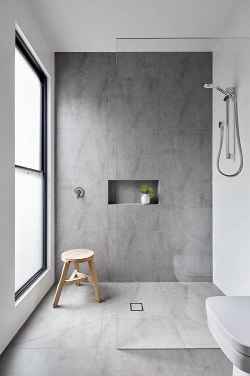cómo decorar un cuarto de baño minimalista