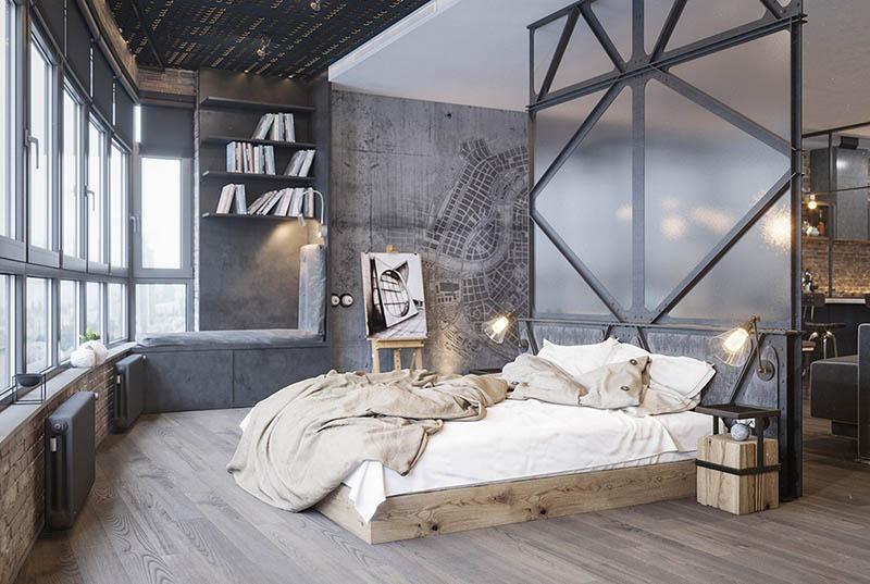 cómo decorar espacios con un diseño y estilo industrial