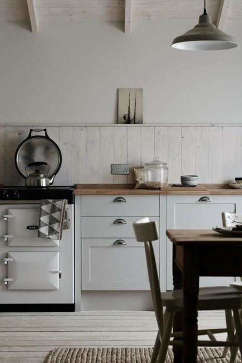 como pintar una cocina pequeña