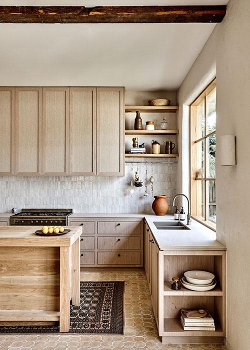 decoración rústica de cocinas
