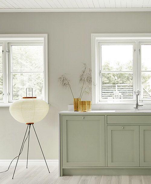 cómo decorar una cocina verde