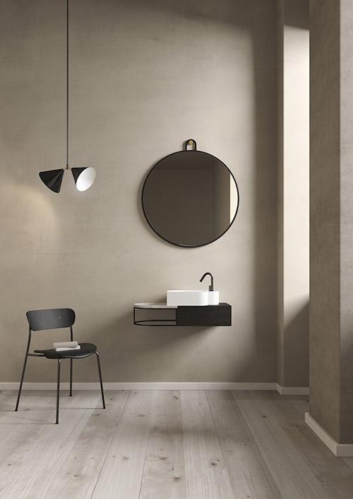 Decoración minimalista en el baño