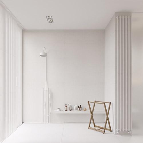 el color blanco en la decoración minimalista
